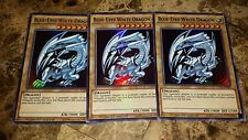 3x Blue-Eyes White Dragon - CT13-EN008 - Ultra Rare - 1st Edition - M/NM Yugioh