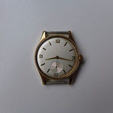 A Mans Vintage 1960s Rolex ( Precision Type ) 9ct Solid Gold Case wristwatch