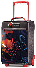 "American Tourister Star Wars Kids 18"" Upright 2 Wheeled Carry On Luggage - Darth"