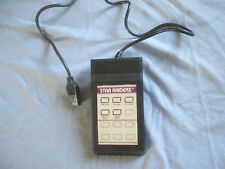 VIDEO TOUCH PAD CONTROLLER WITH STAR RAIDERS OVERLAY ATARI 2600 / 7800 OFFICIAL