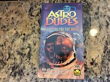 ASTRO DUDES SHOOTING FOR THE MOON RARE NEW SEALED VHS! 1992 KIDS CARTOON FAMILY!