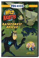 Wild Kratts: Rainforest Rescue (2013, DVD New)