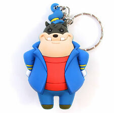 "Disney Villains Figural Keyring Series 2 PETE 3"" KEYCHAIN Blind Bag NEW"