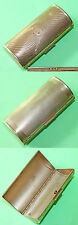 Vintage 1950-60's KIGU Bolster Compact /Lipstick Oval Case Made in England