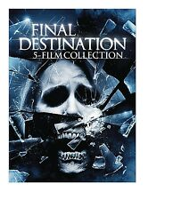 FINAL DESTINATION 1 2 3 4 5 DVD SET R1 NEW AND SEALED  5 DISC BOXSET