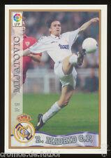#19. PREDRAG MIJATOVIC - Real Madrid CF  1997/1998 - CARD Mundicromo