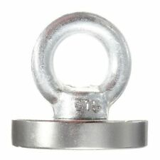 Powerful Strong Disc Rare Earth Permanent NdFeB Magnet D40x5mm + eyebolt ring