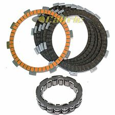 CLUTCH FRICTION PLATES & ONE WAY BEARING Fits HONDA TRX350TE RANCHER ES 2000-06