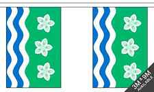 Cumberland British County 3 metre long, 10 flag bunting