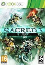 XBOX 360 gioco Sacred 3 First Edition Merce Nuova