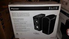 NEW Pioneer Elite SP-EBS73-LR Black Dolby Atmos Bookshelf Speakers (Pair)