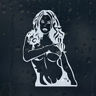 Lady Woman Sexy Girl Car Or Laptop Decal Phone Vinyl Sticker For Bumper Window