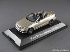 1/43 KYOSHO MERCEDES BENZ CLASSE E CABRIOLET (a207) 2013 aragonitsilber - 141071