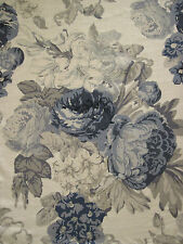 "TESSA PROUDFOOT FOR ST LEGER & VINEY CURTAIN FABRIC DESIGN ""Isabella"" 2 METRES"