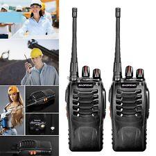 2x Baofeng BF-888S UHF 400-470 MHz 5W CTCSS Two-way Ham Radio 16CH Talkie ED
