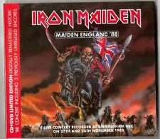 IRON MAIDEN Maiden England 88' 1988 Live CD + DVD Set in Box Sealed