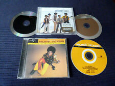 3CD Michael Jackson & Jackson 5 Gold Best Of Greatest Hits 51 Classics Remaster
