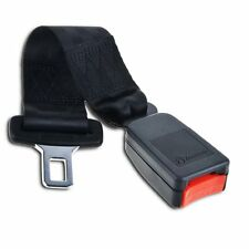 "Zone Tech Car Seat Belt Extender 7"" Polyester Safety Buckle Extension"