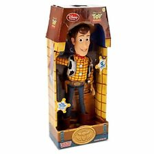 Authentic Disney Store WOODY Cowboy Talking Doll Figure Pull String Toy Story