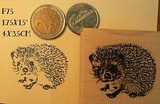 Hedgehog rubber stamp. P75