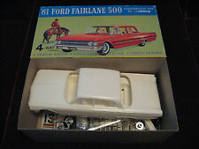 MINT RARE VTG 1961 Ford Fairlane 500 4-Way Customizing Model/Kit Hubley USA 162K