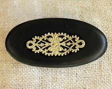 Vintage Retro Antique Russian Old Gorgeous Bronze Brooch Soviet time