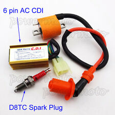 Racing Ignition Coil CDI Spark Plug For 150cc 200cc 250cc Dirt Bike ATV Quad