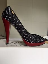 Gorgeous Heels Steve Madden Black/Red - UK 6 (worn once - with box)