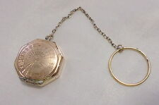 CIRCA 40'S GOLD FILLED BEAUTIFUL CHATELAIN LOCKET