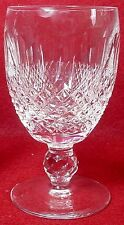 "WATERFORD crystal COLLEEN short stem WHITE WINE GOBLET or GLASS 4-1/2"" inches"