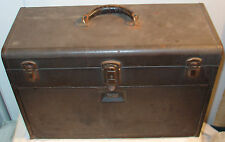 Vintage Kennedy Machinist 520 Tool Box Chest Cabinet 7 Drawer Locking Brown