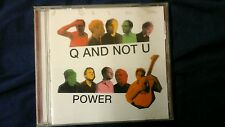Q AND NOT U - POWER. CD