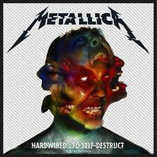 "Metallica Patch/ricamate # 53 ""hardwired to Self Destruct"""