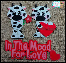 Valentines In the MOOD for love Premade Paper piecing set :) by scrappintoday