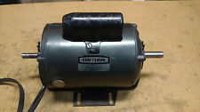 "Craftsman 3/4 HP Motor 113.12260 Table Saw Dual 5/8"" & 1/2"" shafts 3450 RPM"