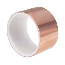 1.8M x 50mm Guitar Pickup EMI Copper Foil Shielding Tape Conductive Adhesive