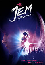 JEM AND THE HOLOGRAMS (DVD, 2016) NEW WITH SLEEVE