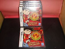 American Dragon Jake Long Attack of the Dark Dragon NDS New / SEALED Nintendo DS