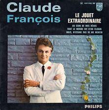 """45 T EP CLAUDE FRANCOIS """"LE JOUET EXTRAORDINAIRE"""""""