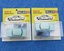 Faller AMS 5155  -- 2 x  Fiat 1800 Bausatz !