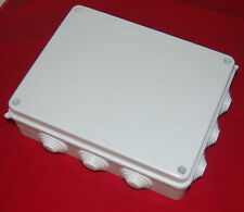 1PC  Plastic Waterproof Electrical Junction box 255*200*80mm IP65
