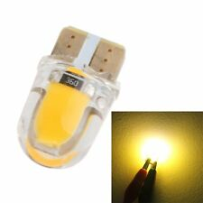 10x T10 W5W 194 8SMD Silica Gel LED Bulbs License Plate Side Light Amber Yellow