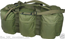Kombat Green Army Tactical Assault Holdall 100 L deployment bag  / backpack