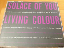 NOS Living Colour Solace of You Promo CD Single color from Time's Up 1990 Album