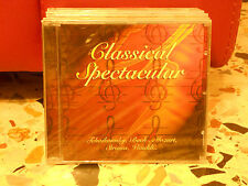 CLASSICAL SPECTACULAR - TCHAIKOWSKY-BACH-MOZART-STRAUSS- VIVALDI - CHOPIN-DELIBE