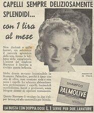W6686 Shampo Palmolive - Pubblicità 1939 - Advertising