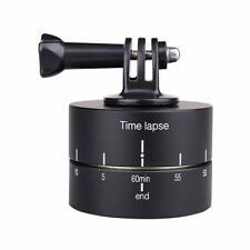 360 Degree Ball Head Panning Rotating Time Lapse Stabilizer Compatible with GoPr