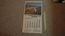 VINTAGE UNION PACIFIC RAILROAD 1970  CALENDER  BX 1000