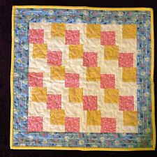 Handmade Doll Quilt/Table Topper/Wall Hanging--19 inch square
