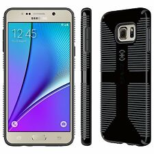 Speck Products CandyShell Grip Case for Samsung Note 5, Black/Slate